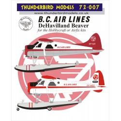 72-007 Thunderbird Models...