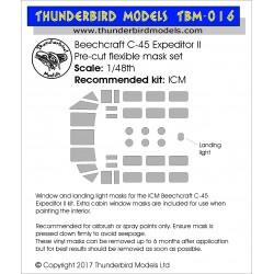TBM-016 Thunderbird Models...