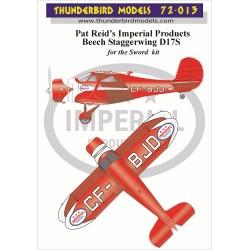 72-013 Thunderbird Models...